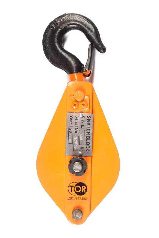 Блок монтажный с крюком TOR HQG(L) K1-0