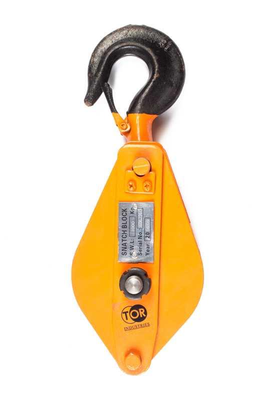 Блок монтажный с крюком TOR HQG(L) K1-1