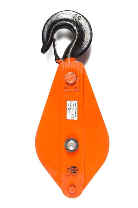 Блок монтажный с крюком TOR HQG(L) K1-5