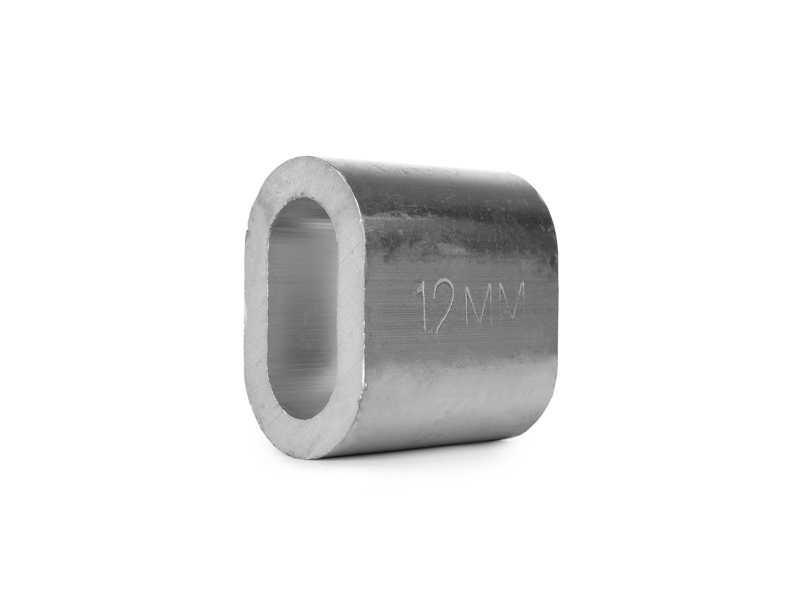 Втулка алюминиевая 12 мм TOR DIN 3093
