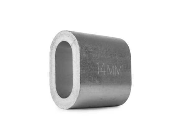 Втулка алюминиевая 14 мм TOR DIN 3093