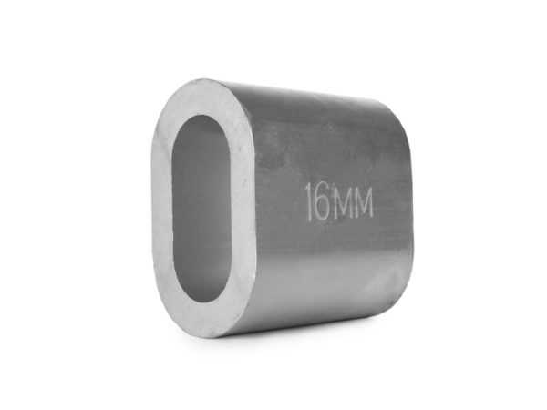 Втулка алюминиевая 16 мм TOR DIN 3093