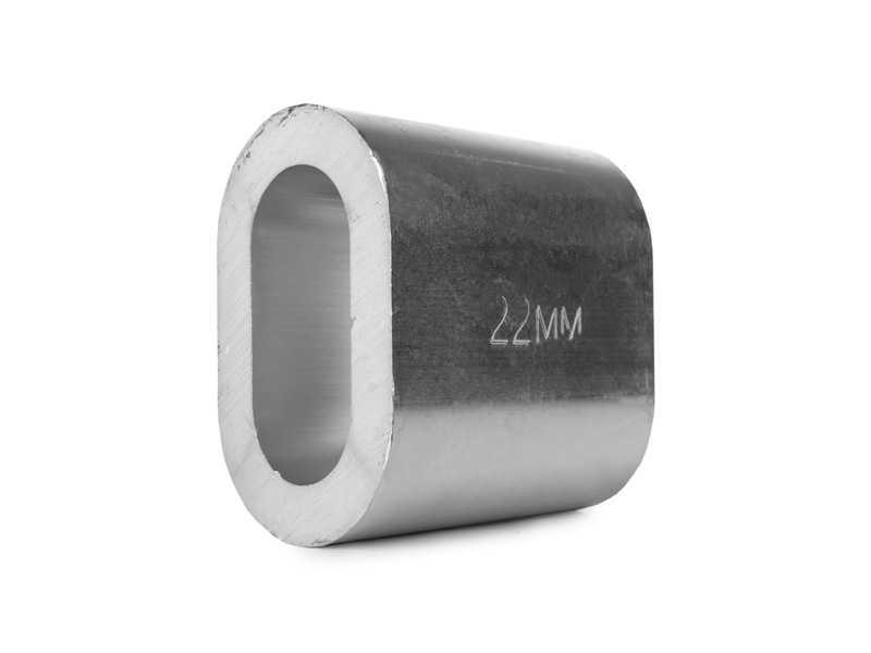 Втулка алюминиевая 22 мм TOR DIN 3093