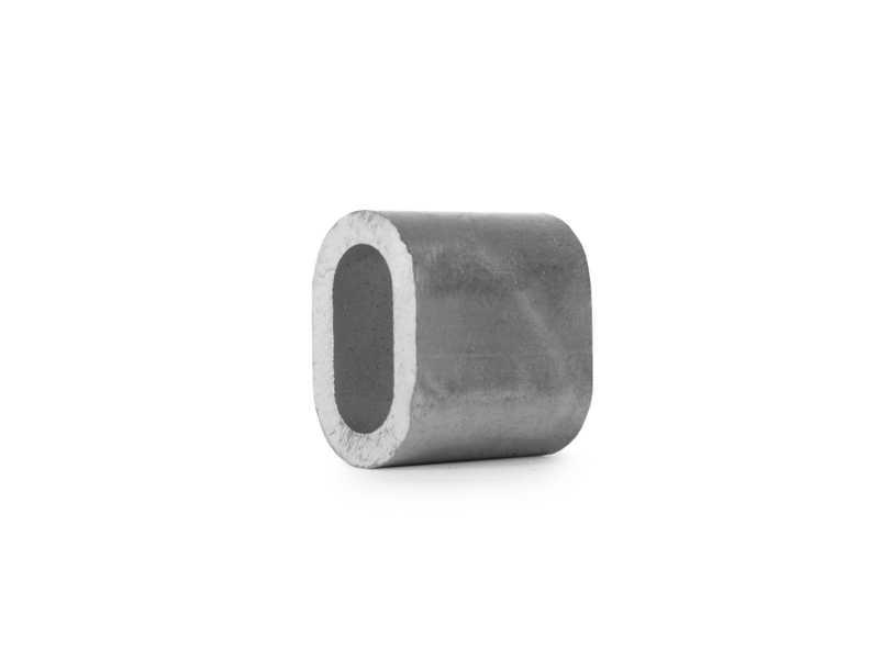 Втулка алюминиевая 6 мм TOR DIN 3093
