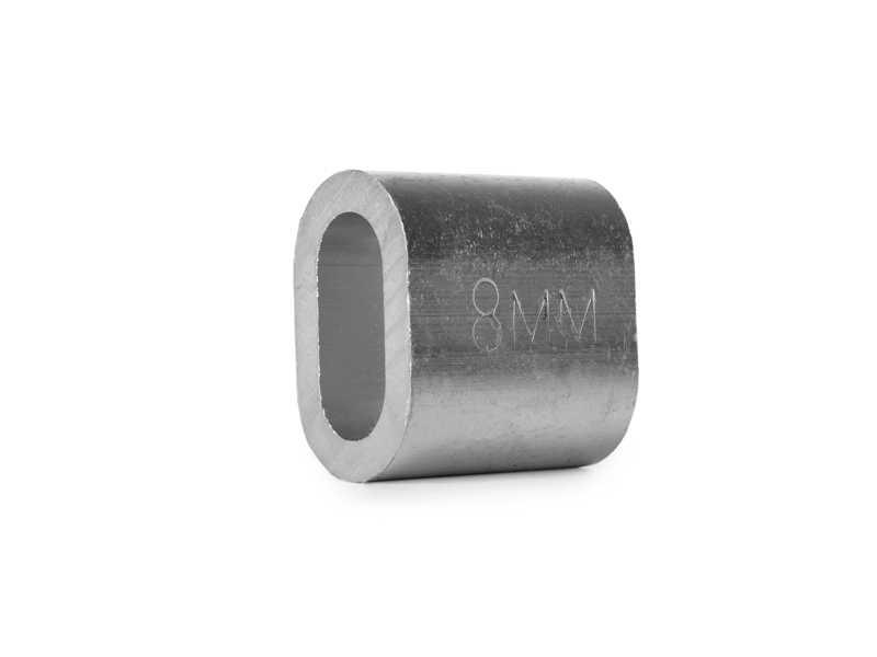 Втулка алюминиевая 8 мм TOR DIN 3093