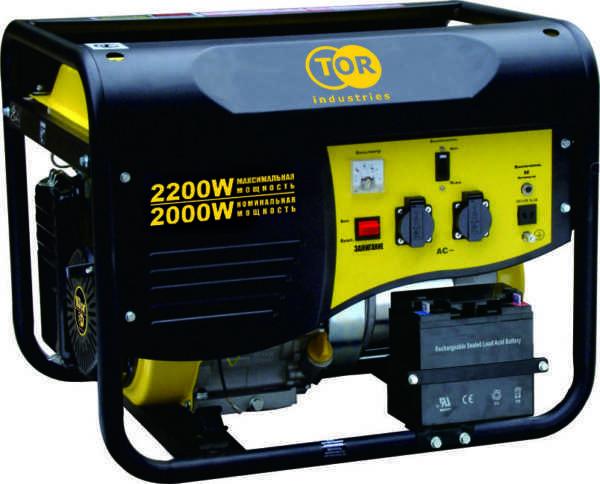 Генератор бензиновый TOR TR2500E 2