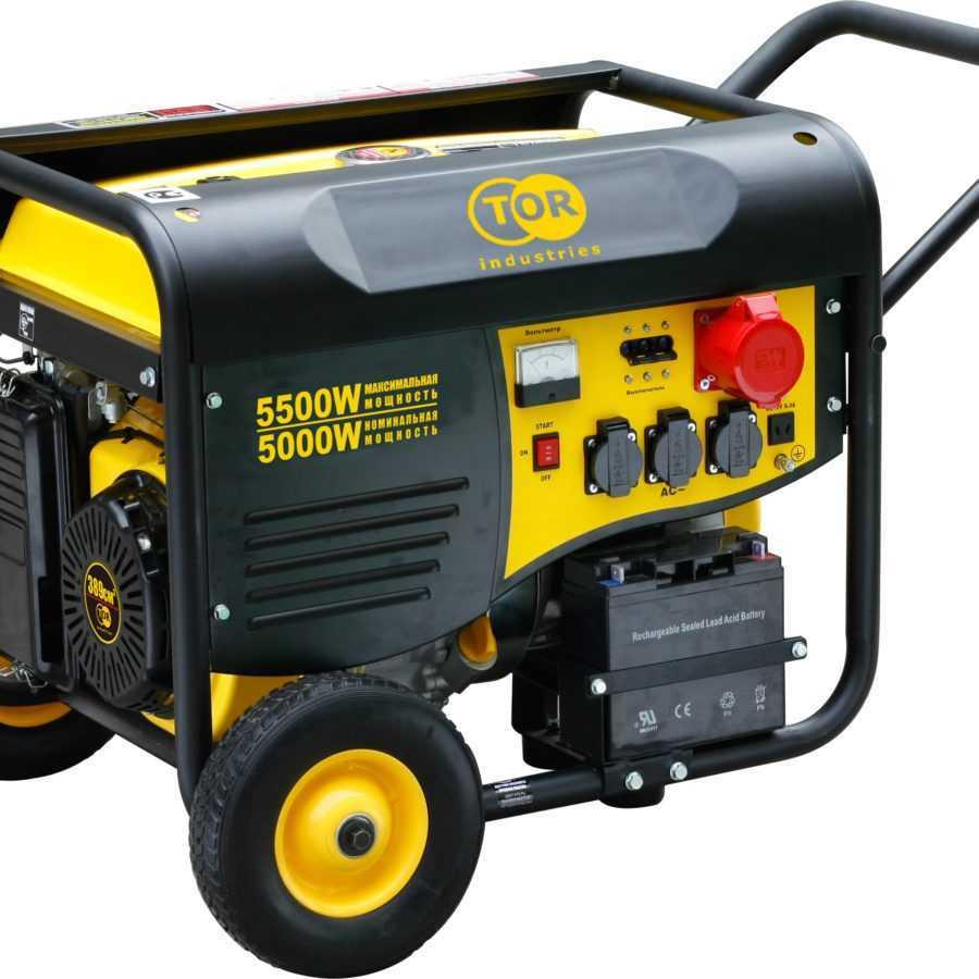 Генератор бензиновый TOR TR6500W 5