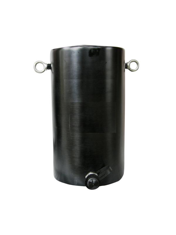 Домкрат гидравлический алюминиевый TOR HHYG-100100L (ДГА100П100)