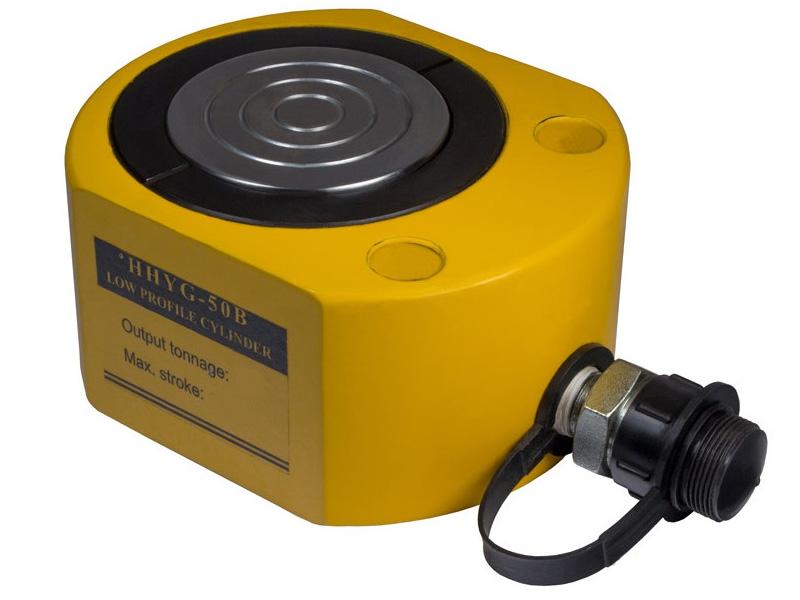 Домкрат гидравлический низкий TOR HHYG-501 (ДН50М50)