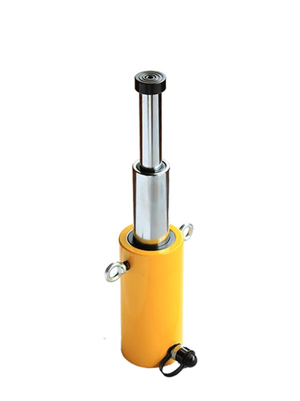 Домкрат гидравлический телескопический TOR HHYG-15510D (ДТ15Г510) 15 т