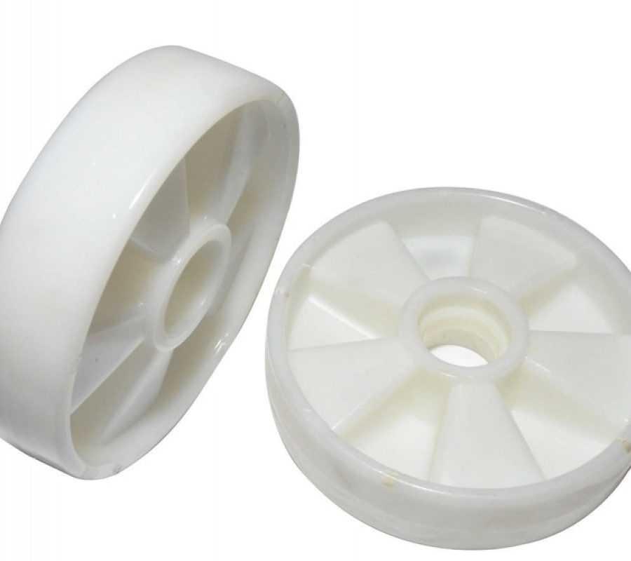Колесо б/подш. нейлон 200х50 мм для тележек гидравлических