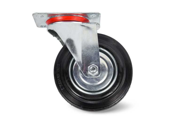 Колесо поворотное резина SC 85 250мм