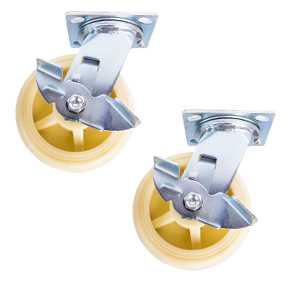 Колесо поворотн. тормоз PP (C550B/PP1542CB3) 150мм