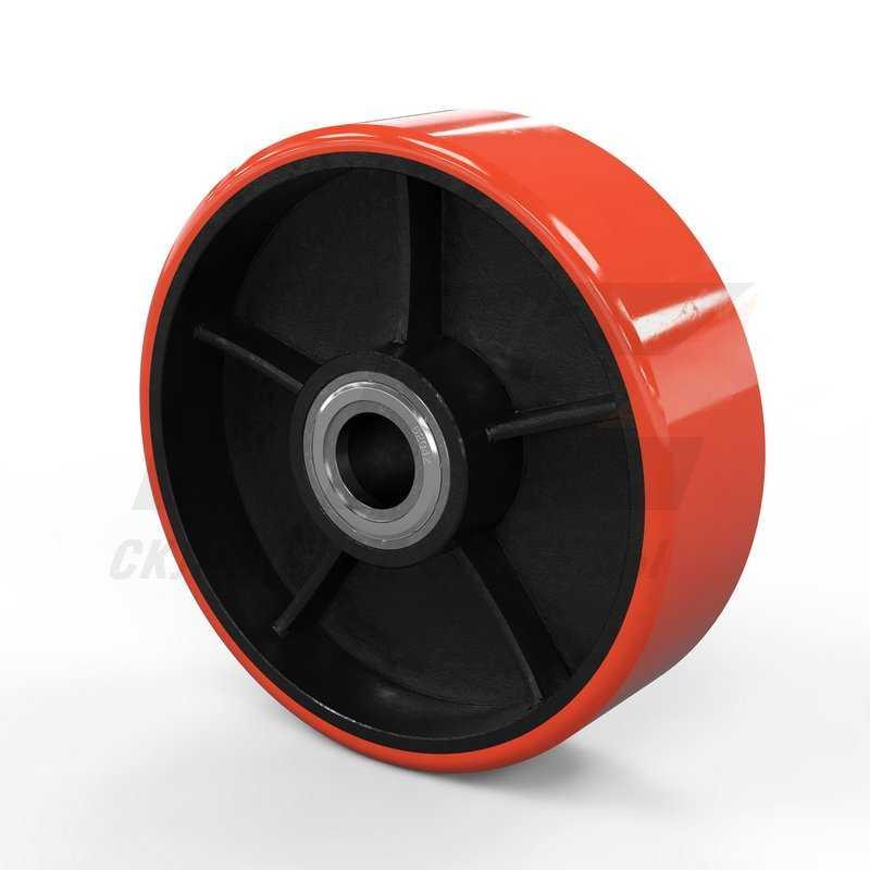 Колесо с подш. полиуретан 160х50мм для RHP/JC/DB/CW/CBY-ACL/BFC