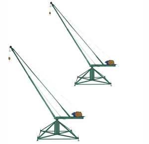 Кран стреловой поворотный 'МАСТЕР' (кран 'Пионер') 320 кг 60 м (без противовеса)