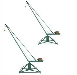 Кран стреловой поворотный 'МАСТЕР' 500 кг 100 м