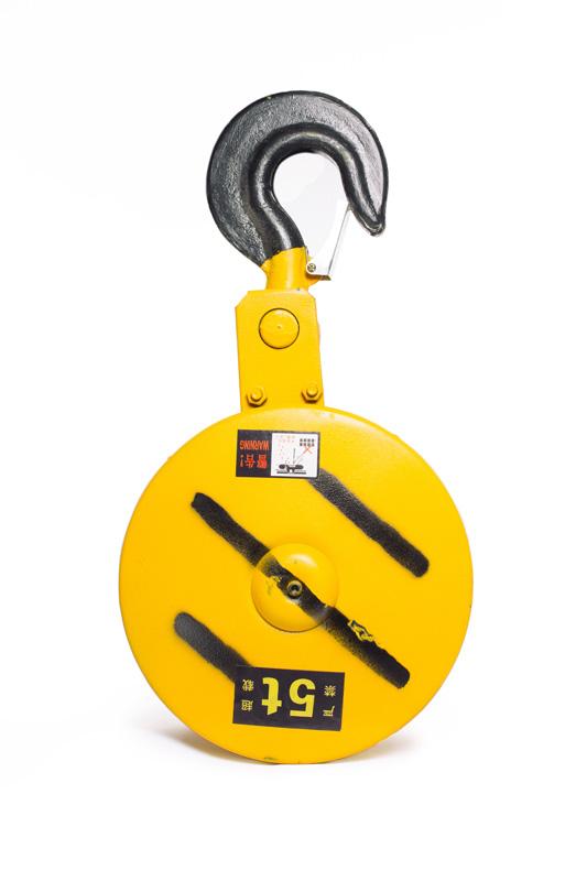 Крюковая подвеска двухблочная для талей электрических TOR CD1 5