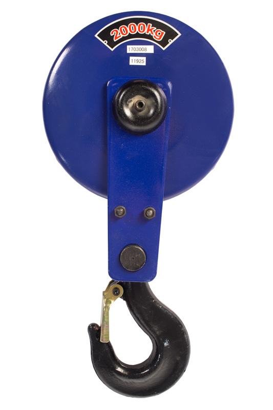 Крюковая подвеска для талей электрических TOR CD1 2