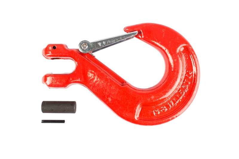 Крюк с вилочным креплением и защелкой TOR г/п 5