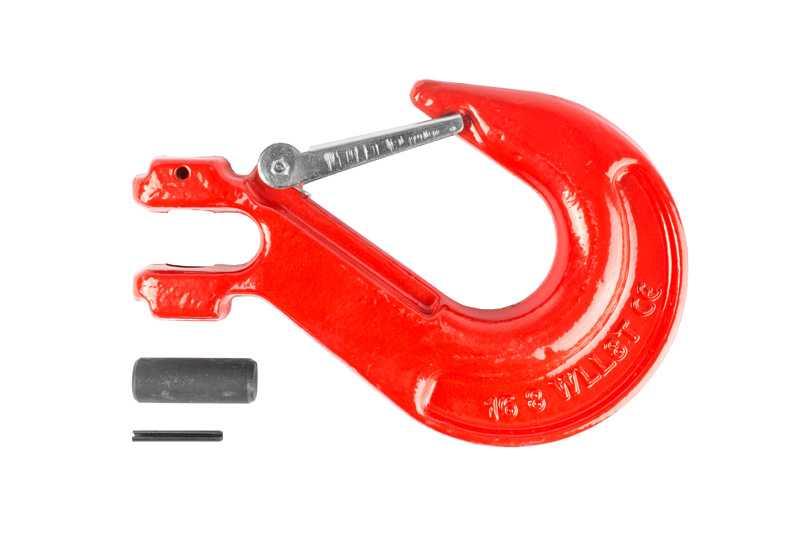Крюк с вилочным креплением и защелкой TOR г/п 8