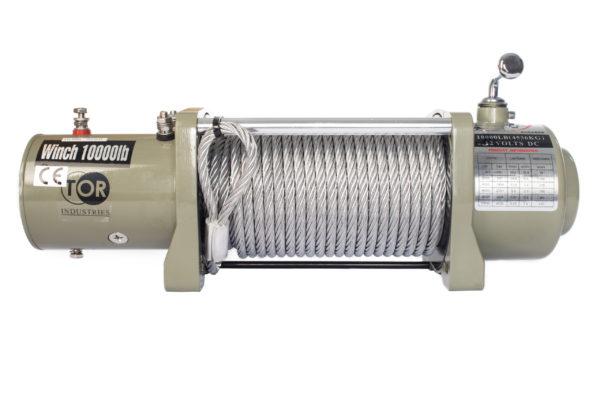 Лебедка (4536 кг/28 м) автомобильная TOR 12 V S10000