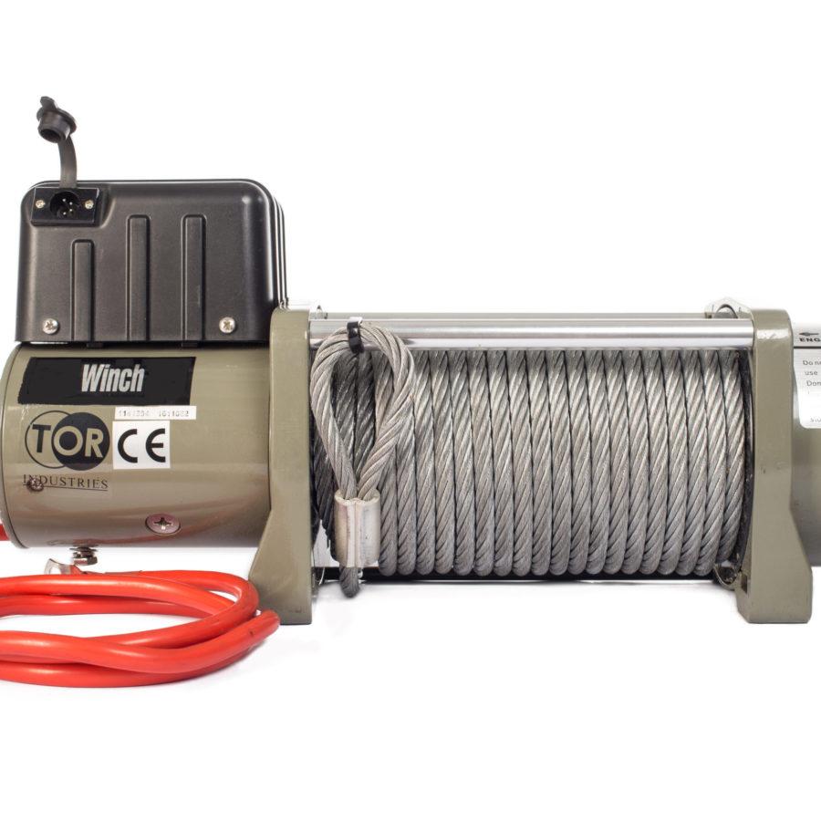 Лебедка (6804 кг/28 м) автомобильная TOR 12 V SEC15000