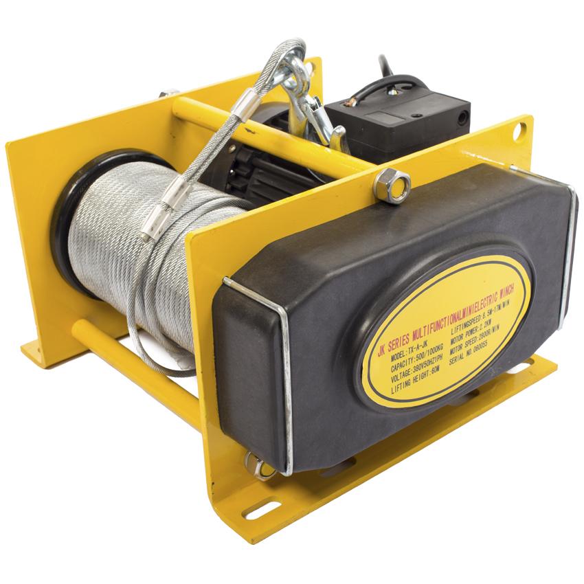 Лебедка EWH 500 (TOR KDJ-500B-30) электрич (500кг) L=60м
