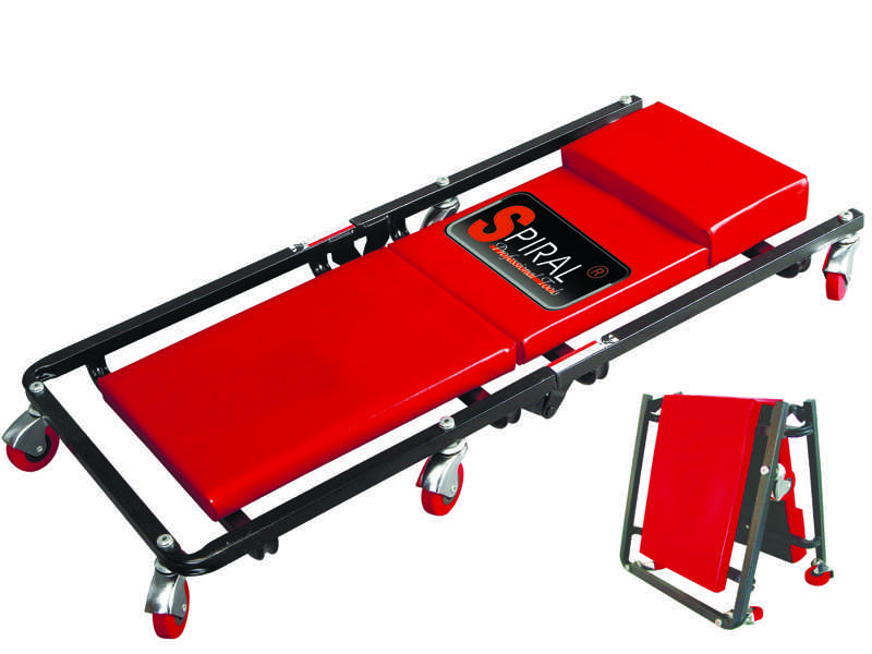 Лежак подкатной ремонтный TOR 36' LT-6454A складной