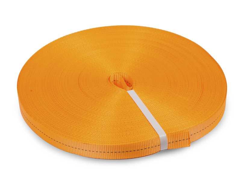 Лента текстильная для ремней TOR 100 мм 15000 кг (оранжевый)