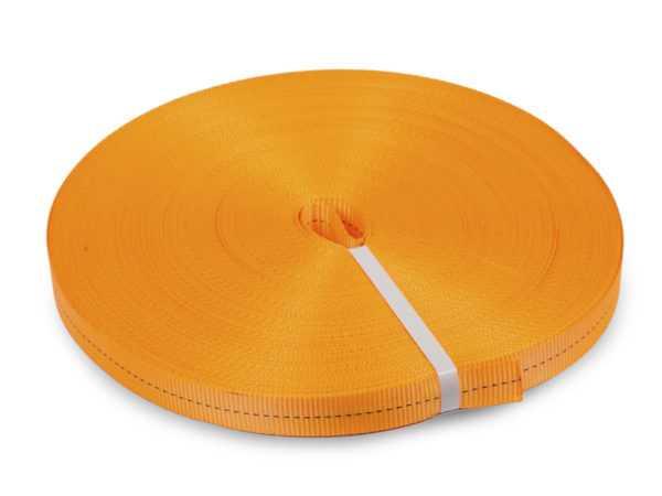 Лента текстильная для ремней TOR 75 мм 10500 кг (оранжевый)