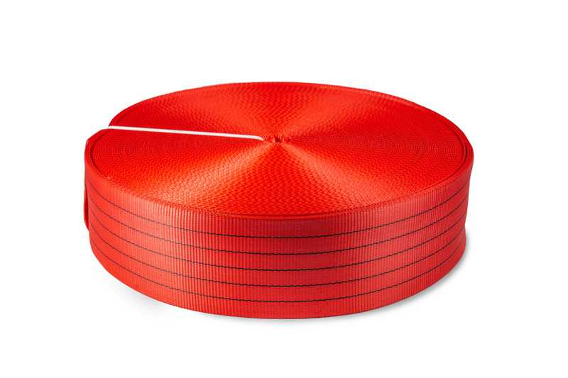 Лента текстильная TOR 5:1 125 мм 16250 кг (красный)