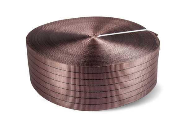 Лента текстильная TOR 6:1 180 мм 21000 кг (коричневый)