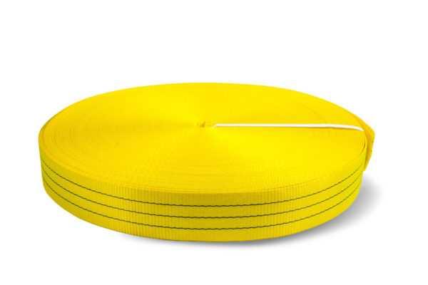 Лента текстильная TOR 6:1 90 мм 10500 кг (желтый)