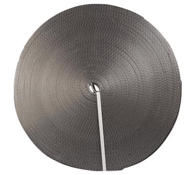 Лента текстильная TOR 7:1 120 мм 18000 кг (серый)