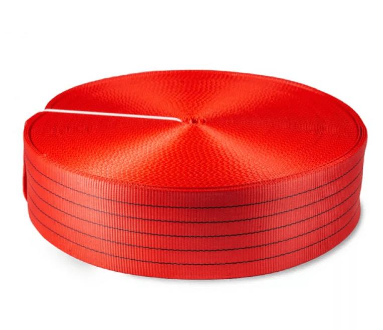 Лента текстильная TOR 7:1 150 мм 22500 кг (красный)