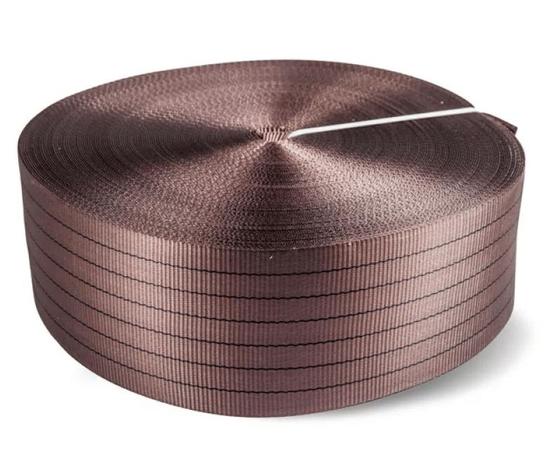Лента текстильная TOR 7:1 180 мм 27000 кг (коричневый)