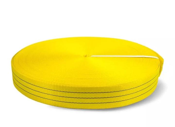 Лента текстильная TOR 7:1 90 мм 13500 кг (желтый)