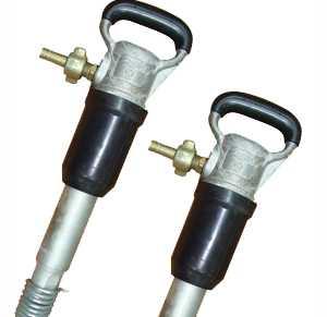 Молоток отбойный пневматический МО-4Б (двойная рукоятка)