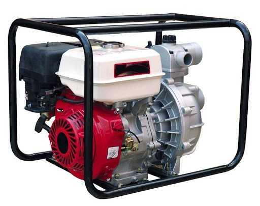 Мотопомпа бензиновая для грязн. воды TOR WP-30S