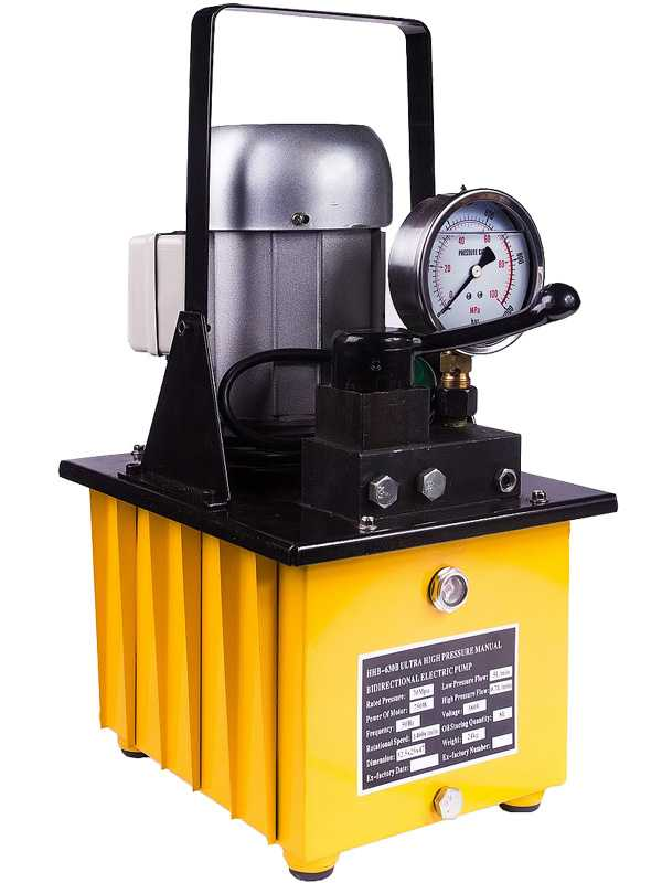 Насос электрогидравлический TOR HHB-630B (380V/0