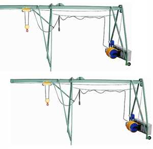 Подъемник строительный 'УМЕЛЕЦ М' 320 кг 50 м с раcпоркой