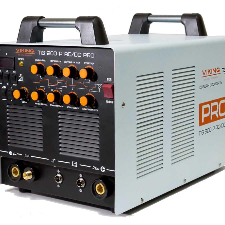 Сварочный инвертор VIKING TIG 200P AC/DC PRO