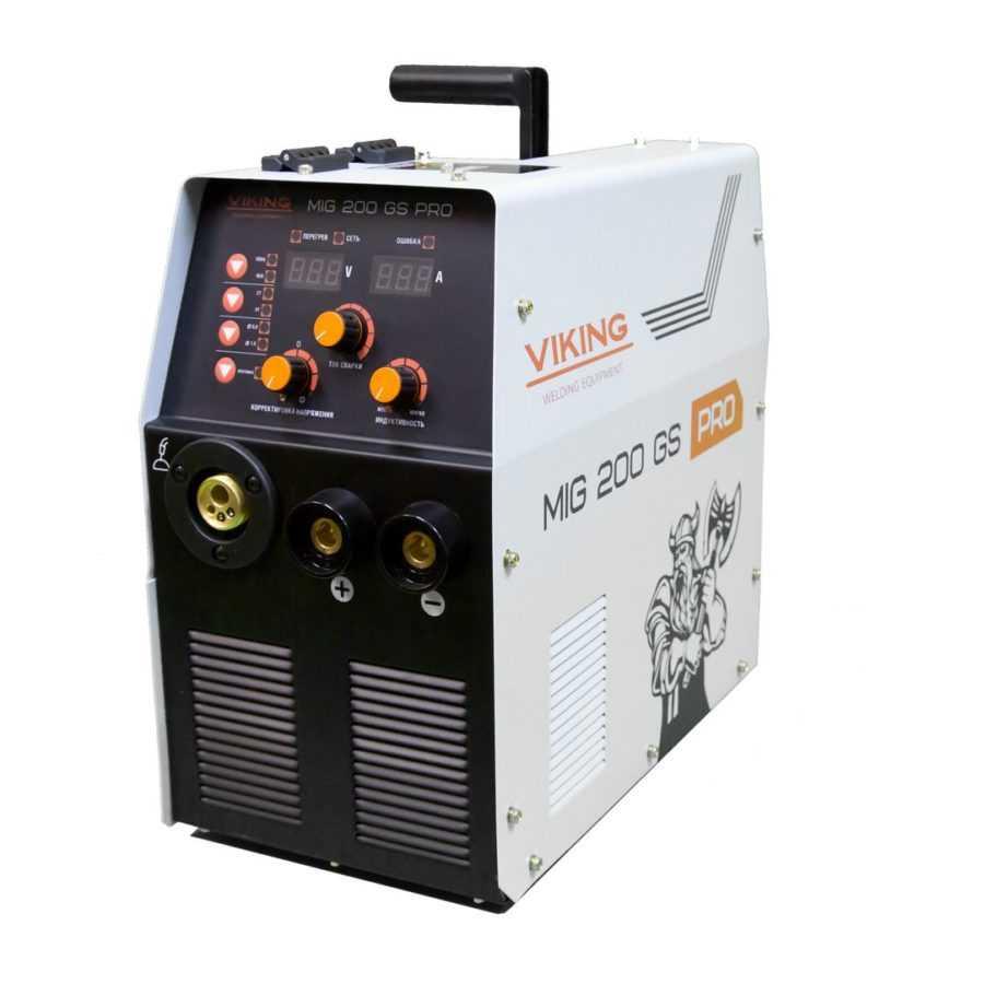 Сварочный инвертор VKING MIG 200GS PRO