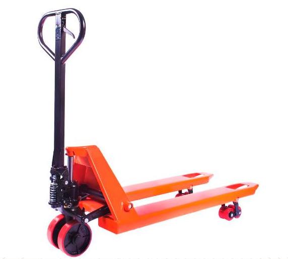 Тележка гидравлическая TOR DF 2000 (полиуретановые колеса)