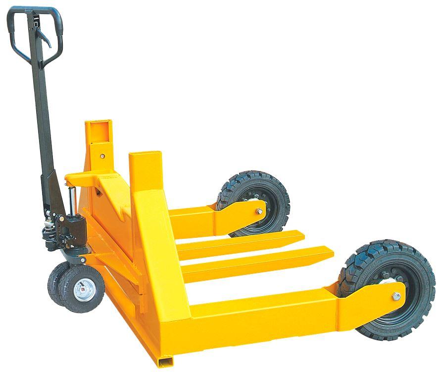Тележка гидравлическая TOR HW 1500 для бездорожья (резин.колеса)