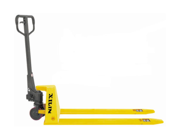 Тележка гидравлическая XILIN г/п 1500 кг BFL15 низкопрофильная (полиуретан.колеса)