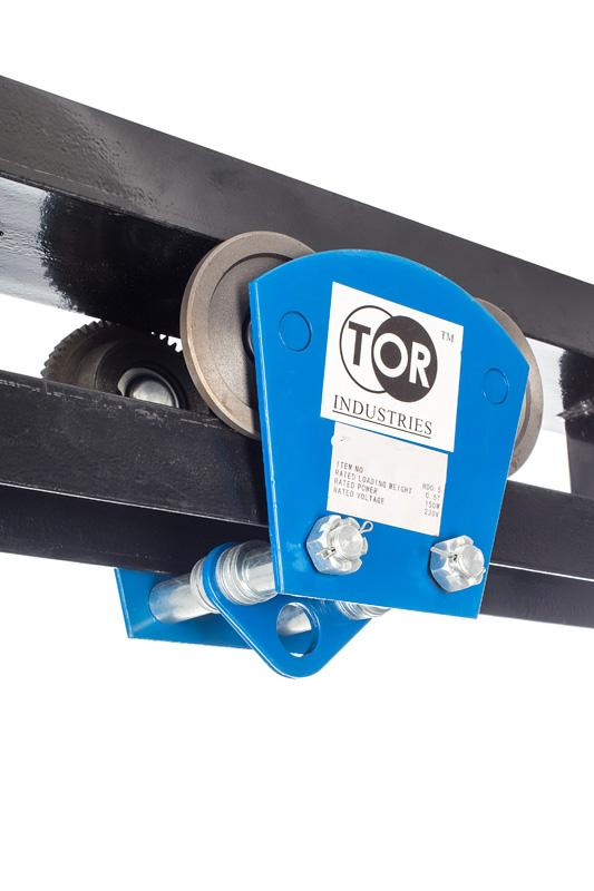 Тележка электрическая тип TOR HD 1