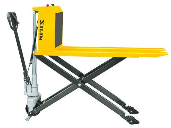 Тележка электрическая 1000 кг XILIN JFD8 с ножничным подъемом (резин.колеса)