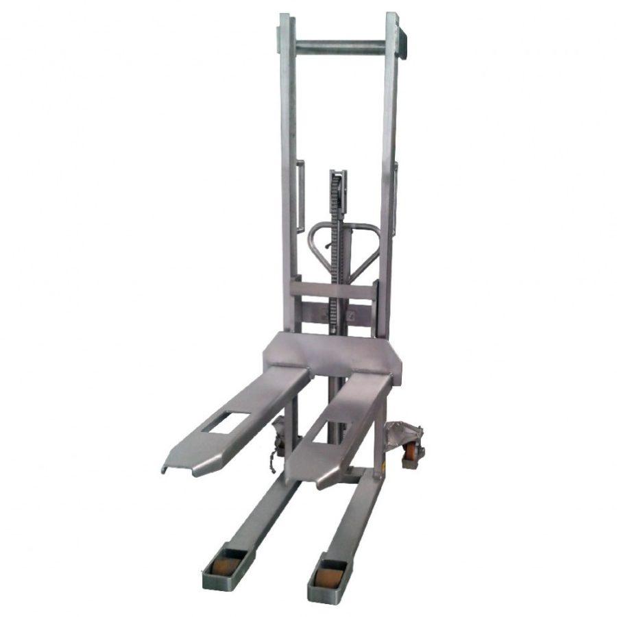 Штабелер ручной гидравлический TOR 1.0т 1.6м HSY10 (нержавеющая сталь)