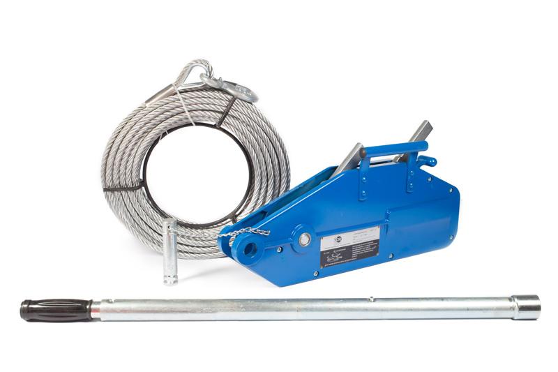 Лебедки ручные рычажные тросовые (механизмы тяговые монтажные - МТМ)